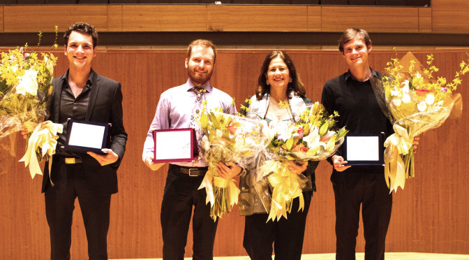 Marko Topchii is a winner of the International Guitar Competition Maurizio Biasini at San Francisco Conservatory of Music!